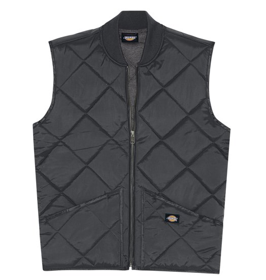 Dickies Dickies Diamond Qulited Vest - Black