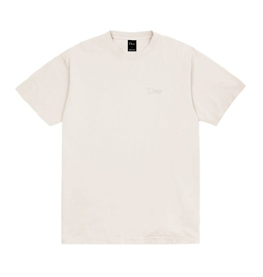 Dime Dime Classic Embroidered T-Shirt - Light Grey