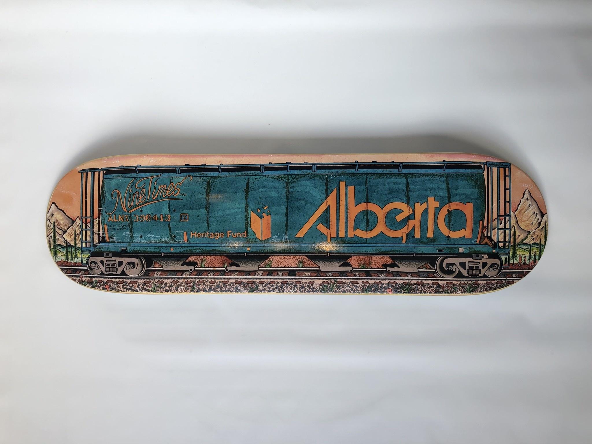 Ninetimes Ninetimes Alberta Train Deck