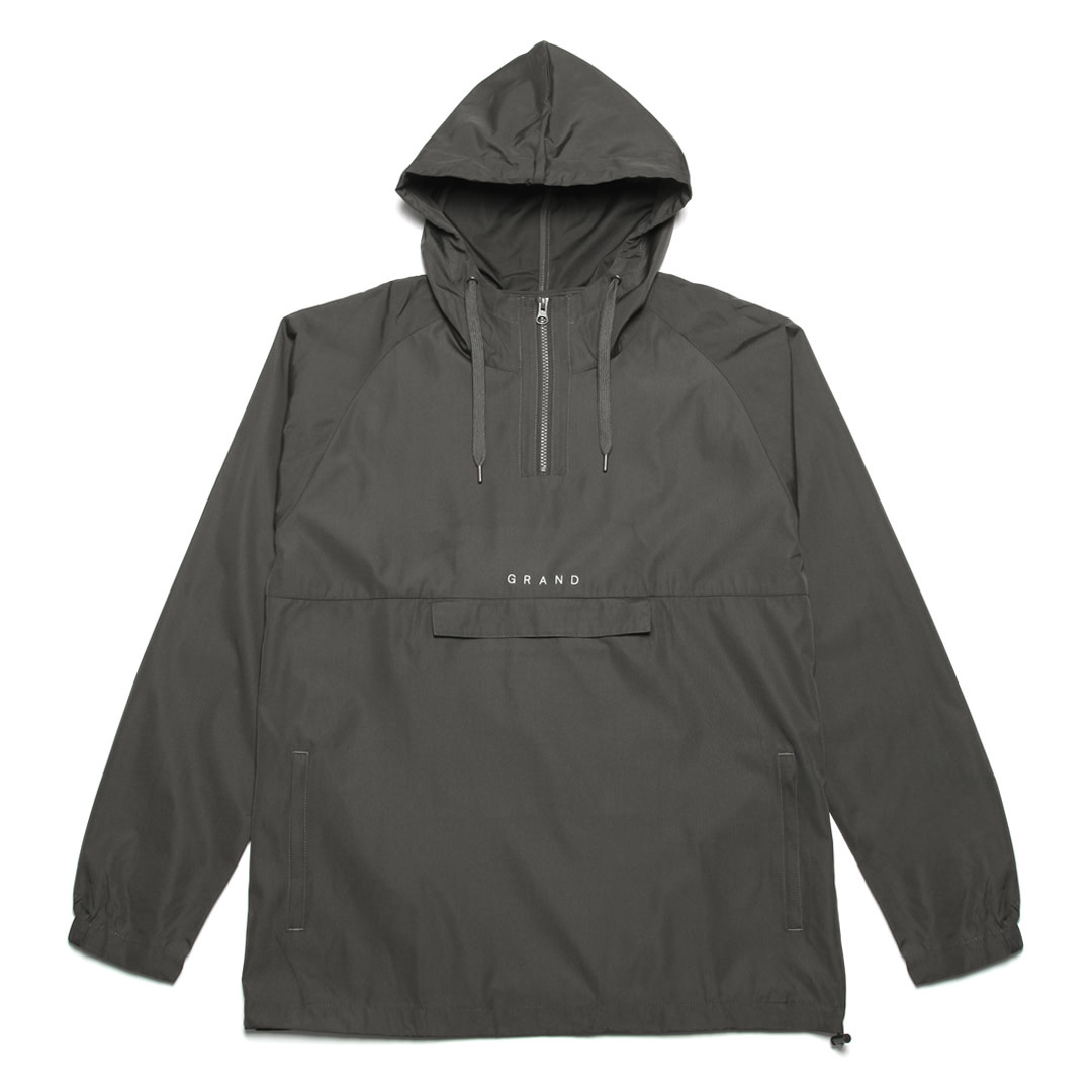 Grand Collection Grand Anorak - Charcoal