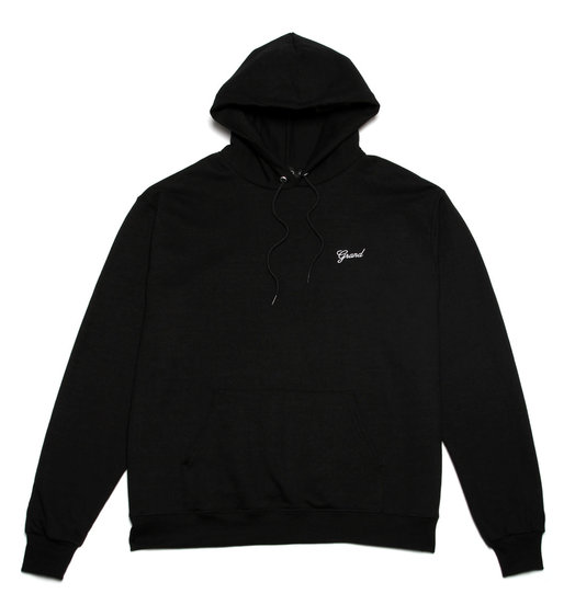 Grand Collection Grand Script Hoodie - Black