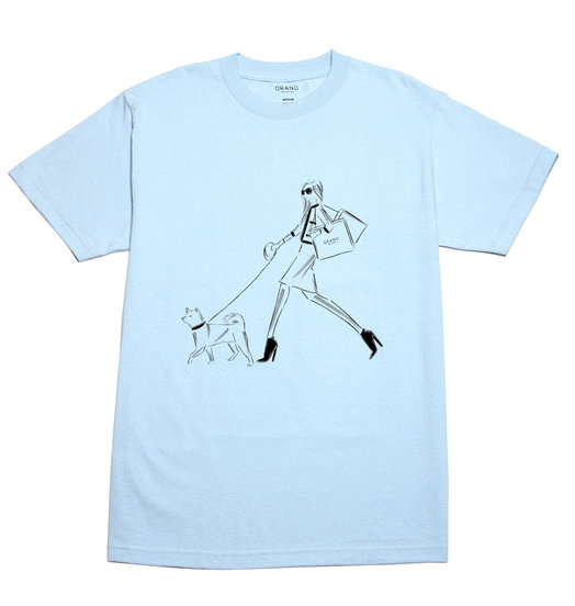 Grand Collection Grand 5th Avenue Tee - Powder Blue