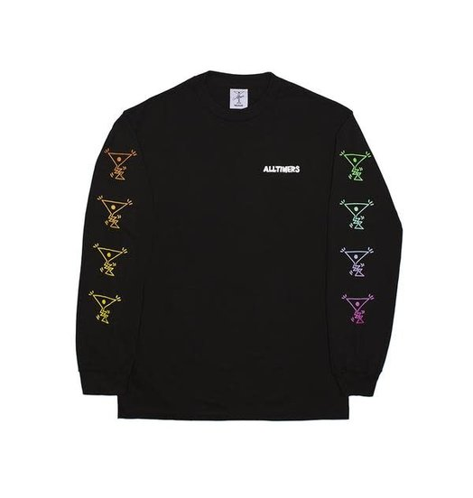 Alltimers Alltimers Action LS Tee - Black