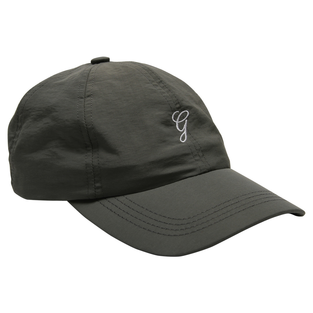 best service 1def5 d0177 Grand Collection Grand G Script Nylon Hat - Charcoal ...