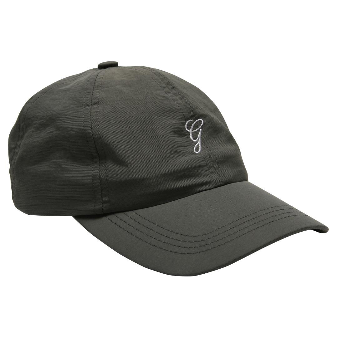 Grand Collection Grand G Script Nylon Hat - Charcoal