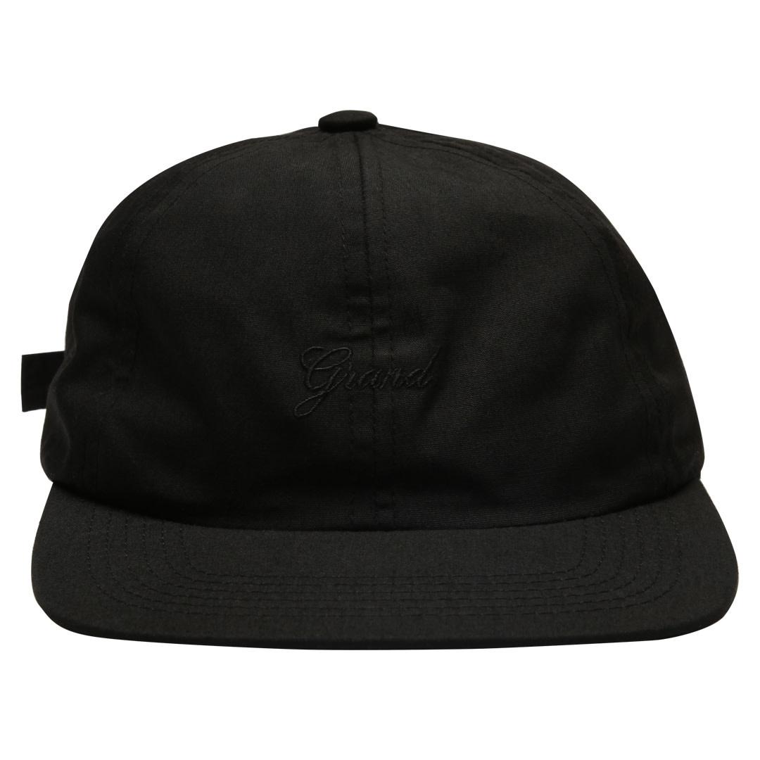Grand Collection Grand Script Cap - Black