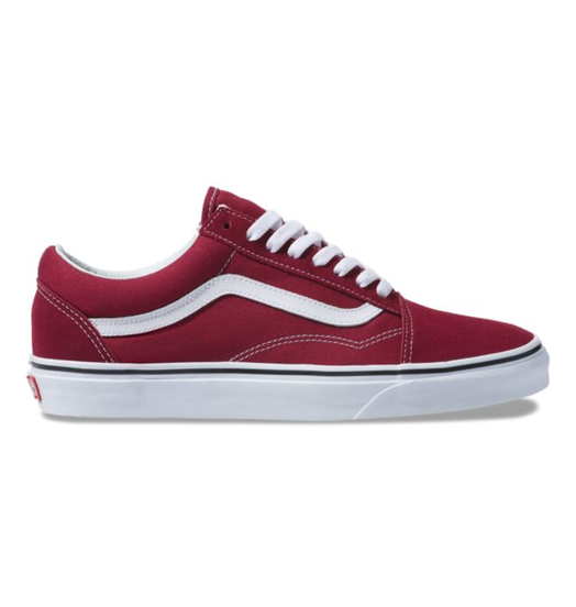 Vans Womens Vans Old Skool - Rumba Red/True White