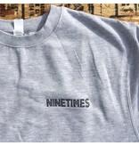Ninetimes Ninetimes OG Crewneck - Grey/Black