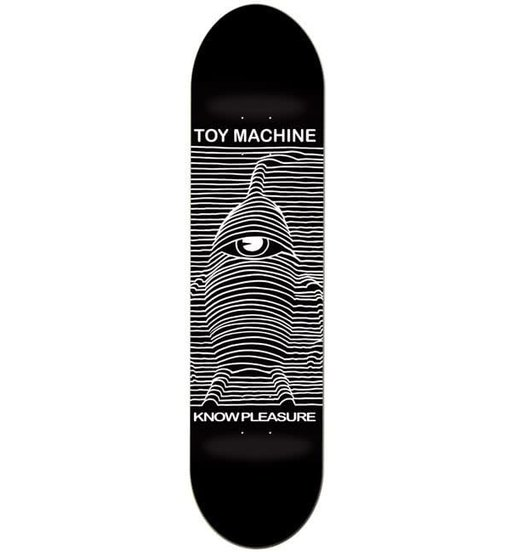 Toy Machine Toy Machine Toy Division Deck - 8.0
