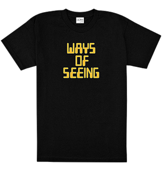 Sneeze Sneeze Ways of Seeing Tee - Black