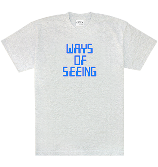 Sneeze Sneeze Ways of Seeing Tee - Ash