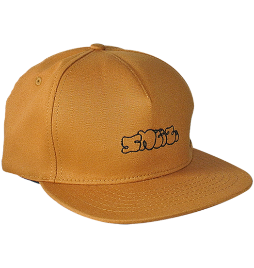 Sneeze Sneeze Logo 5-Panel Cognac