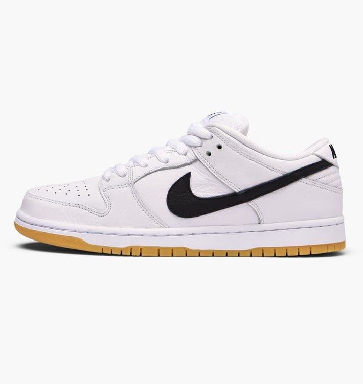 Nike Nike SB Dunk Low Pro ISO - White/Black-White
