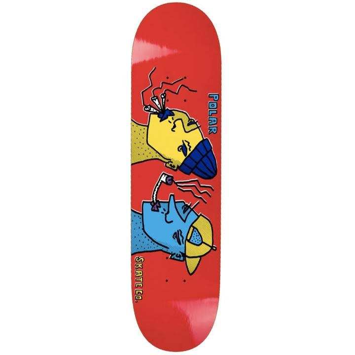 Polar Polar Smoking Heads Deck - 8.75