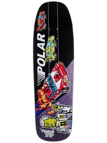 Polar Polar Herrington Reptilian Racer Deck - 1992 Shape 9.25