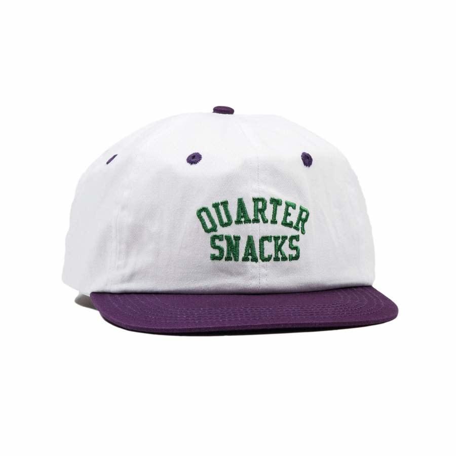 Quartersnacks Quartersnacks Arch Cap - White/Purple