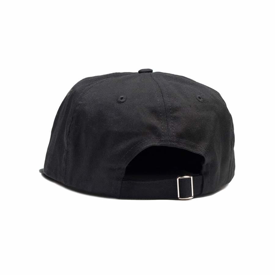Quartersnacks Quartersnacks Skaters Cap - Black