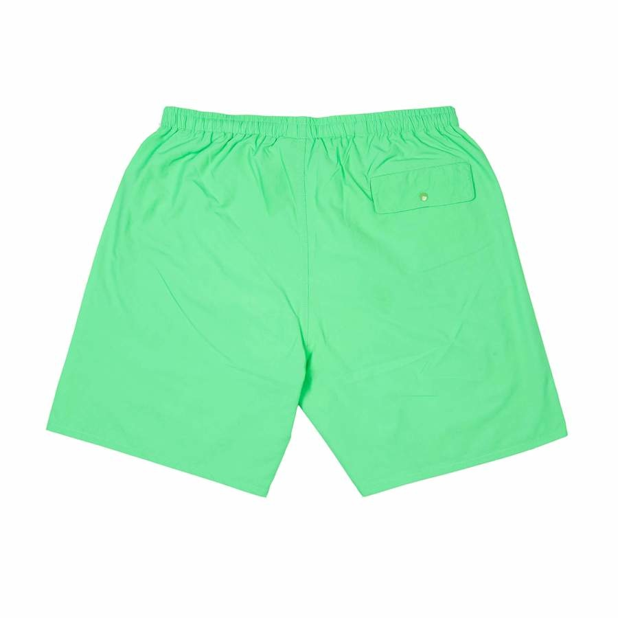 Quartersnacks Quartersnacks Water Shorts - Lime