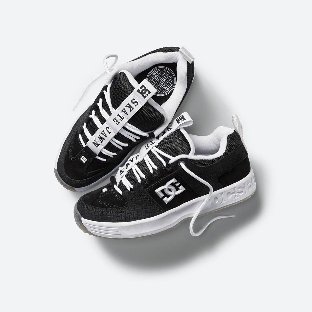 DC DC Lynx OG X Skate Jawn - Black/Grey/White