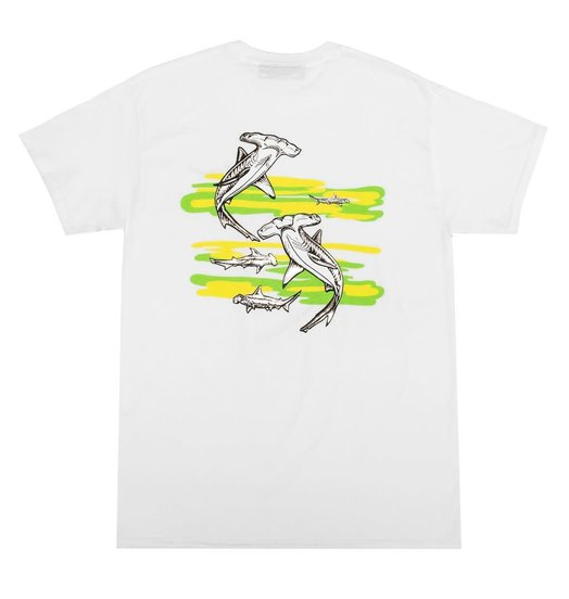 Call Me 917 Call Me 917 Sharky Tee - White