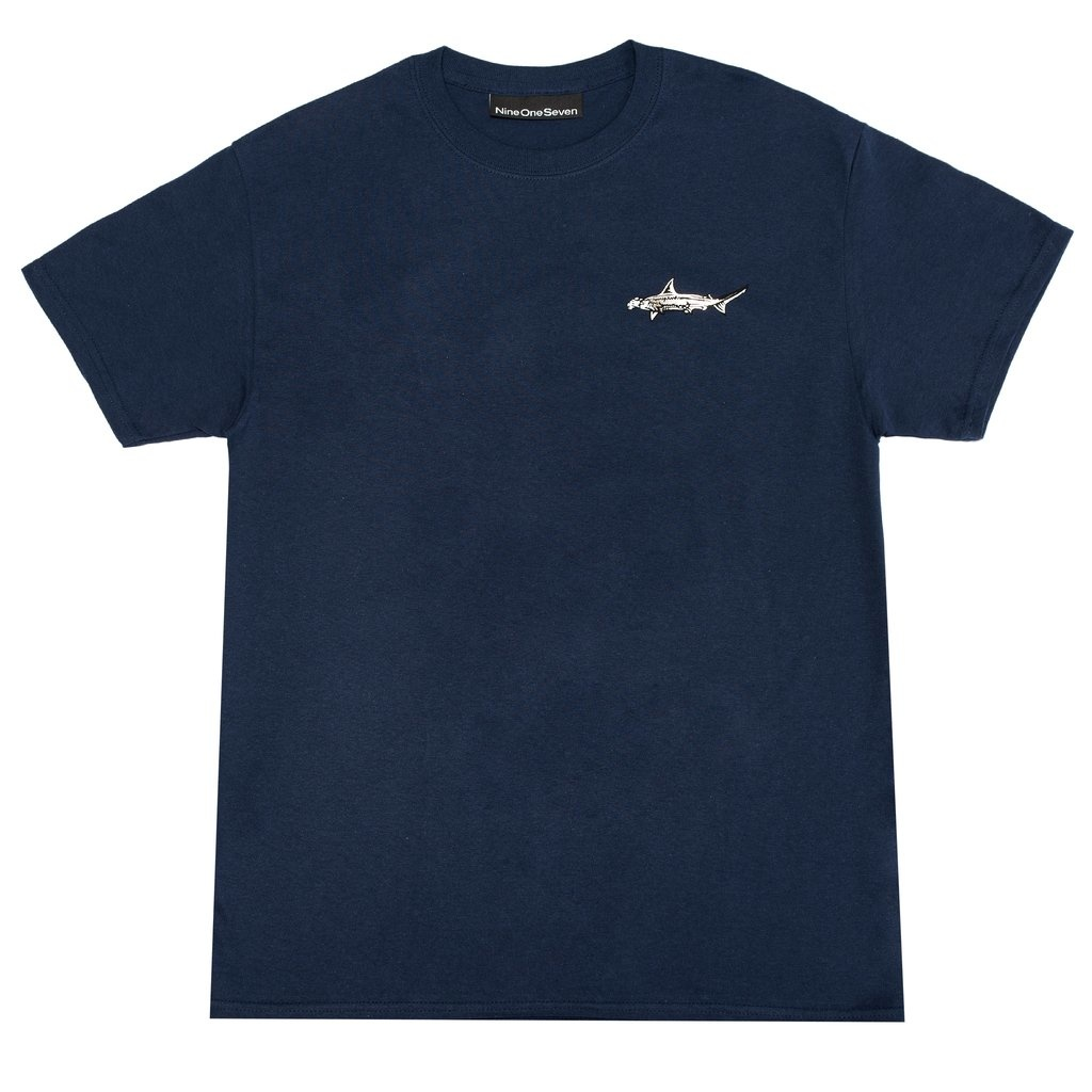 Call Me 917 Call Me 917 Sharky Tee - Navy