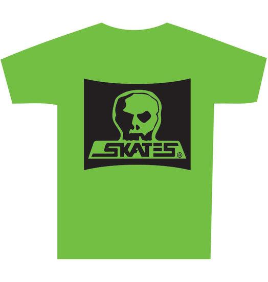 Skull Skates Skull Skates Burbs Tee - Tofino Green