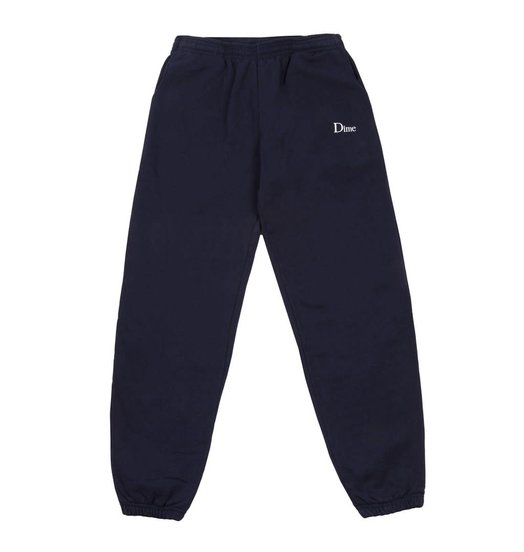 Dime Dime Classic Embroidered Sweatpants - Navy