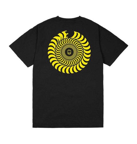 Dime Dime/Spitfire Swirl T-Shirt - Black