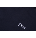 Dime Dime Classic Embroidered Hoodie - Navy