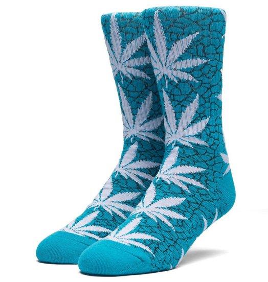 HUF Huf Quake Plantlife Socks - Tropical Green