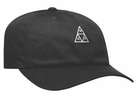 HUF Huf Triple Triangle Curved Visor Hat - Black