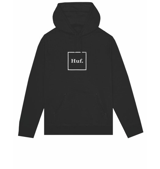 HUF Huf Box Logo Hoodie - Black