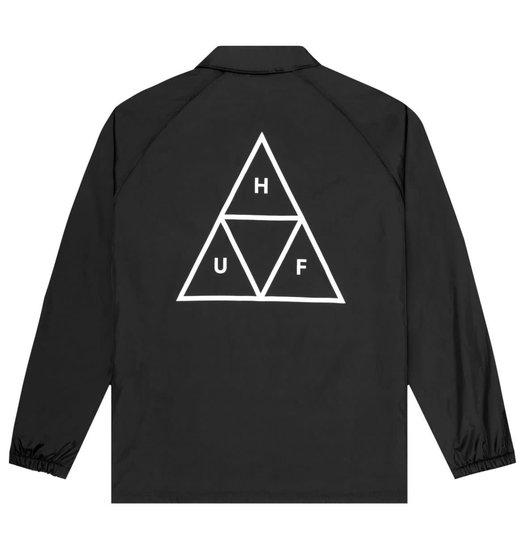 HUF Huf Triple Triangle Coaches Jacket - Black