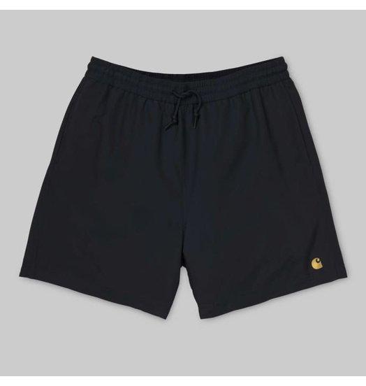 Carhartt WIP Carhartt WIP Chase Swim Trunks Black/Gold