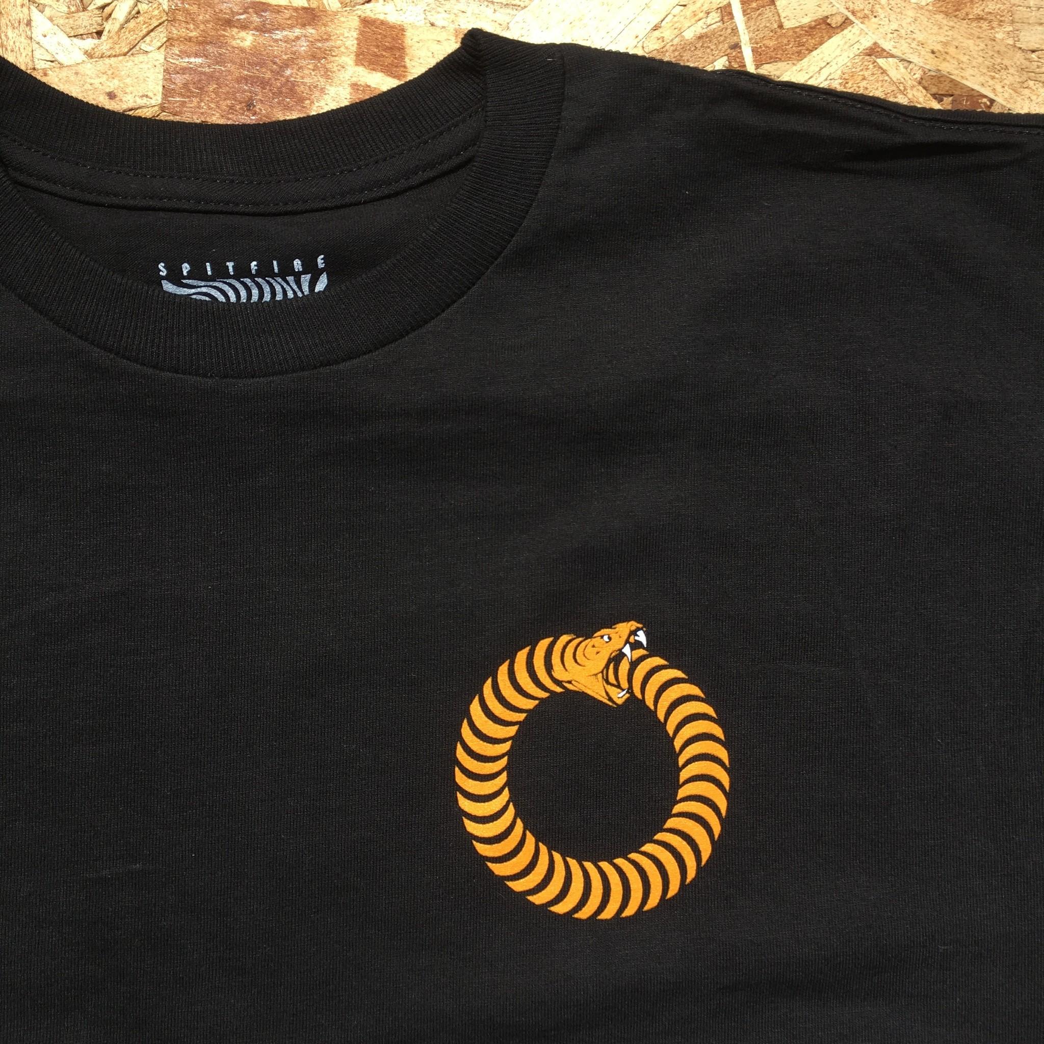 Ninetimes Ninetimes X Spitfire Ouroboros Tee - Black