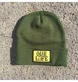 Our Life Our Life Patch Beanie - Forest Green