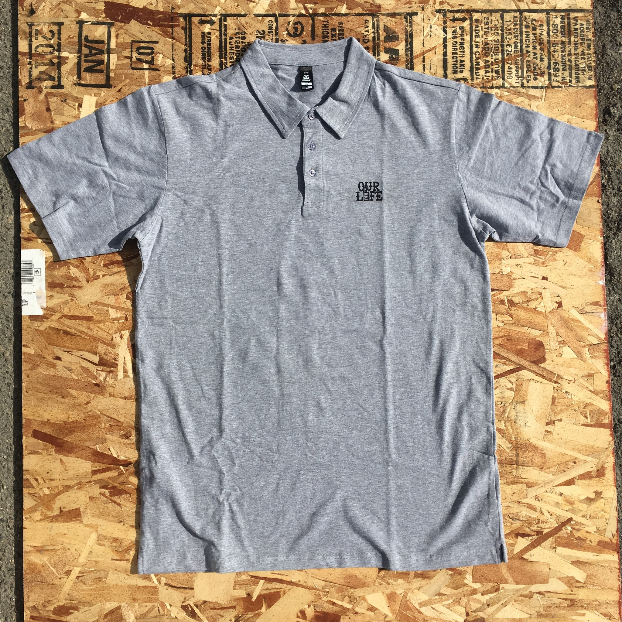 Our Life Our Life Barrel Polo - Grey