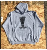 Our Life Our Life Stay Away Hood - Heather Grey