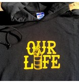 Our Life Our Life Stacked Barrel Hood - Black