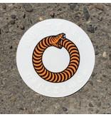 "Ninetimes Spitfire X Ninetimes Ouroboros Sticker - 3.5"" X 3.5"""