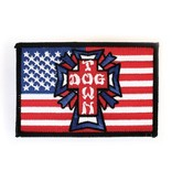 Dogtown Dogtown Embroidered Flag Patch