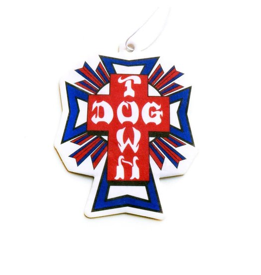 Dogtown Dogtown Cross Logo USA Air Freshener - Vanilla