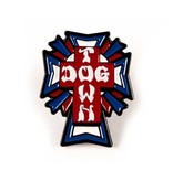 Dogtown Dogtown US Logo Cross Enamel Pin
