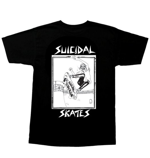 Dogtown Dogtown Suicidal Tendencies Pool Skater Tee - Black