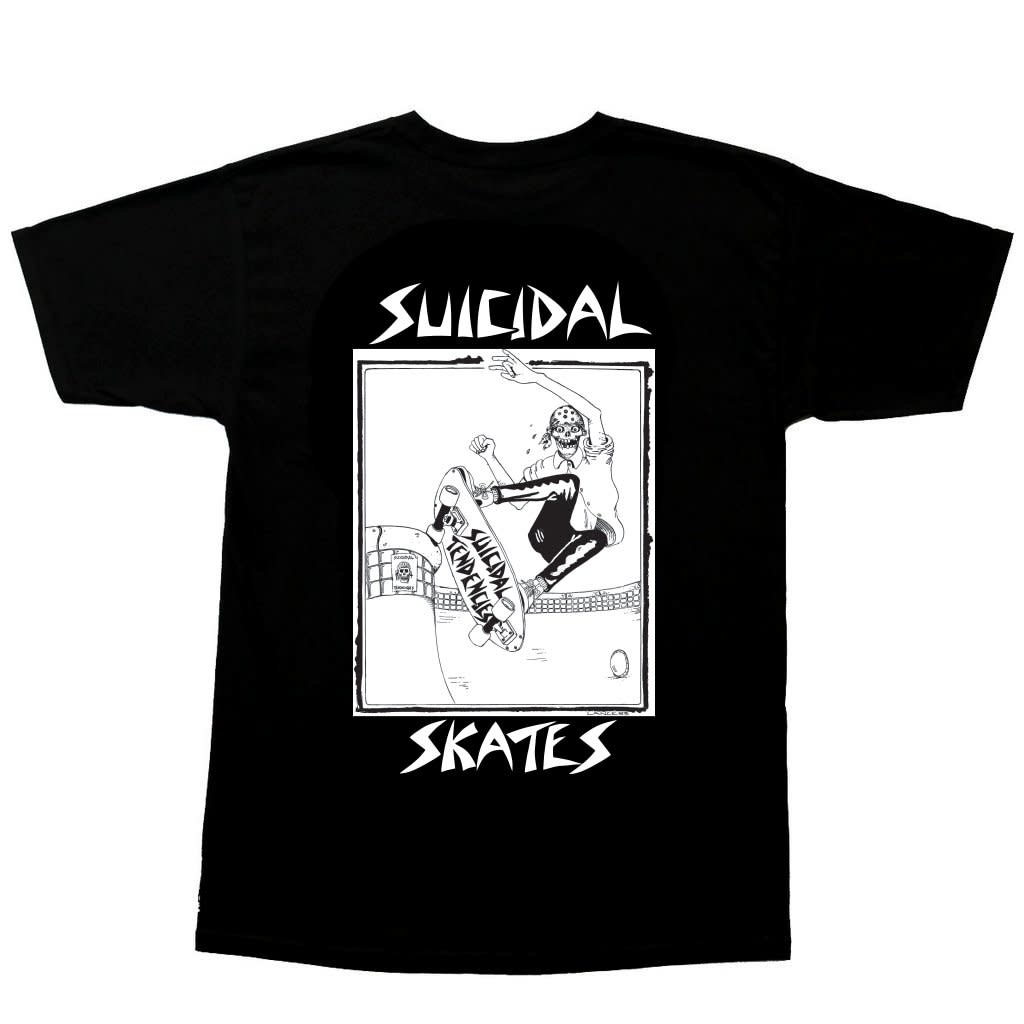 Dogtown Dogtown Suicidal Tendencies Pool Skater Tee - Black