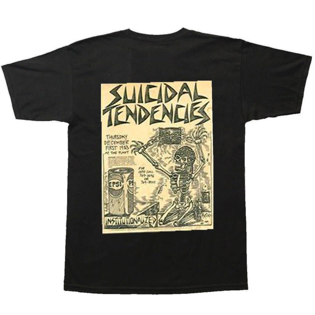 Dogtown Dogtown Suicidal Tendencies Punk Flyer Tee - Black