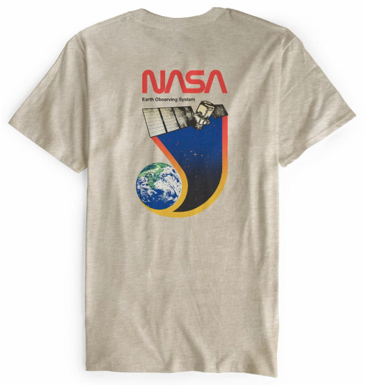 Habitat Habitat X NASA Earth Observer Tee - Tan