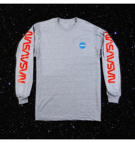 Habitat Habitat X NASA Worm Repeat Longsleeve - Grey