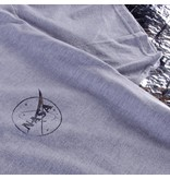 Habitat Habitat X NASA Foil Meatball Tee - Grey