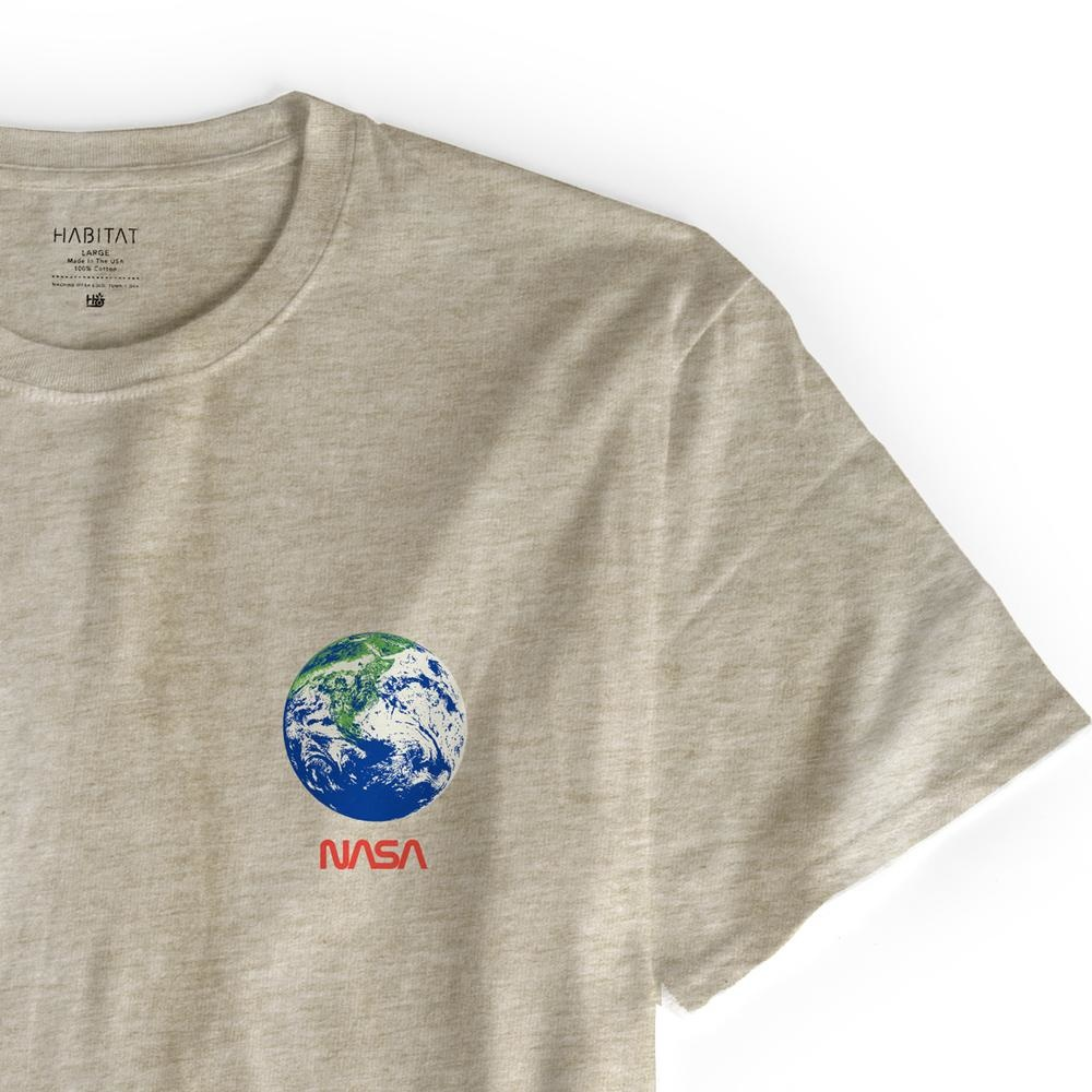 Habitat Habitat X NASA Earth Observer Tee - Tan